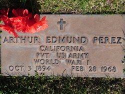 Pvt Arthur Edmund Perez