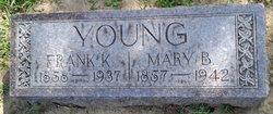 Mary Bertha <I>Olsen</I> Young