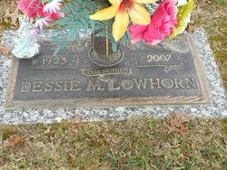 Dessie M. <I>Thrasher</I> Lowhorn