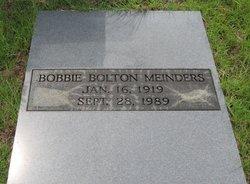 Bobbie <I>Bolton</I> Meinders