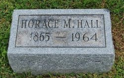 Horace M Hall