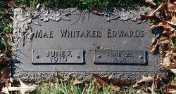 Mae <I>Whitaker</I> Edwards