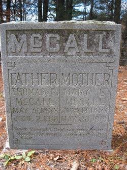 Mary Elizabeth <I>Ball</I> McCall