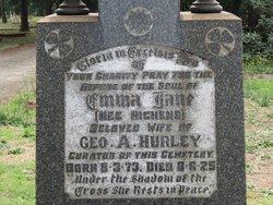 Emma Jane <I>Richens</I> Hurley