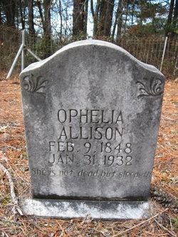 Ophelia Evaline <I>McCall</I> Allison
