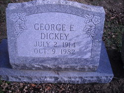 George E Dickey