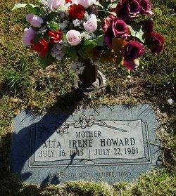 Alta Irene <I>Henderson</I> Howard
