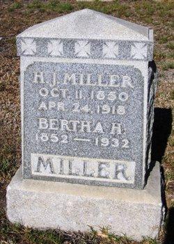 Bertha H. Miller