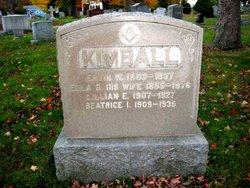 Ervin W Kimball