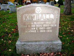 Ella D <I>Tufts</I> Kimball