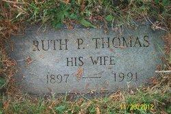 Ruth P. <I>Thomas</I> Miller