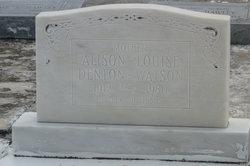 Alison Louise Denton-Watson