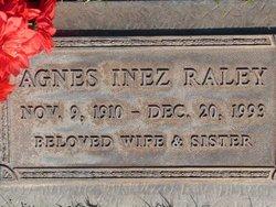 Agnes Inez Raley