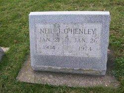 Neil J O'Henley
