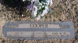 Lee Estelle <I>Davis</I> Cooper