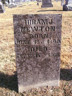 Hiram J Newton