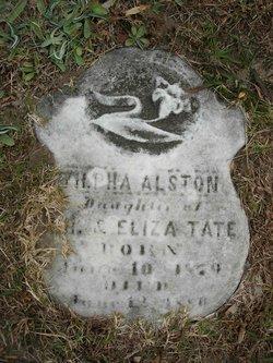 Zilpha Alston Tate