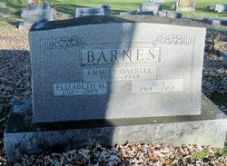 Elizabeth <I>Marsh</I> Barnes