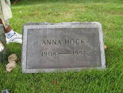 Anna <I>Hoelzke</I> Hock