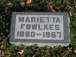 Marietta Fowlkes