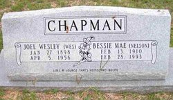 Bessie Mae <I>Nelson</I> Chapman