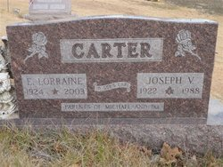 Edna Lorraine <I>Glaspell</I> Carter