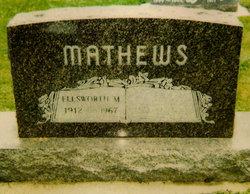 "Ellsworth Mills ""Bud"" Mathews"
