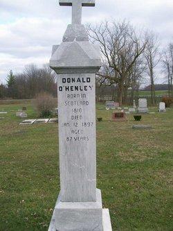 """Donald """"Beag"""" O'Henley"""
