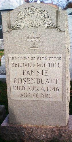 Fannie Rosenblatt