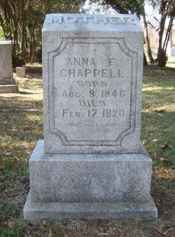 Anna E Chappell