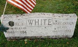 Mary Ann <I>Ensign</I> White