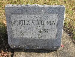 Bertha V Billings