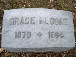 Grace May <I>Durfee</I> Cone