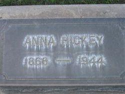 Anna Bertha <I>Allievie</I> Hickey