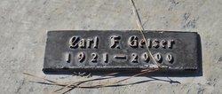 Carl F Geiser