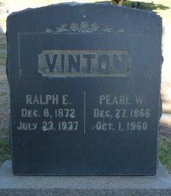 Pearl W <I>Wright</I> Vinton