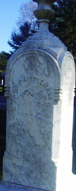 Jane W. <I>Robinson</I> Littlehale