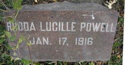 Rhoda Lucille Powell
