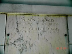Wilson P Adams