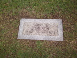 Verna B. <I>Jones</I> Johnson