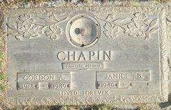 Gordon A. Chapin