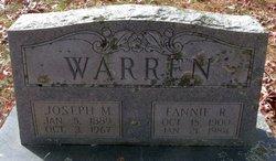 Fannie R. Warren