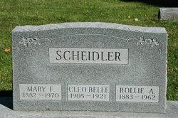 Cleo Bell Scheidler