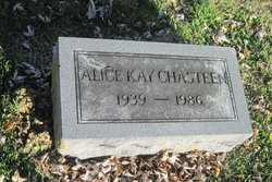 Alice Kay <I>Brown</I> Chasteen