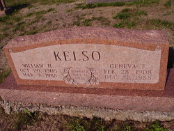 William H Kelso