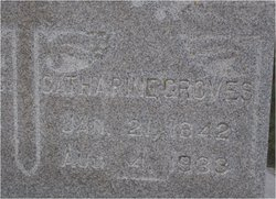 Catharine H <I>Saubert</I> Groves