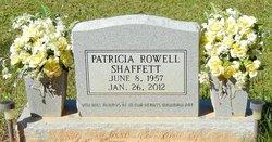 Patricia <I>Rowell</I> Shaffett