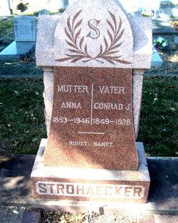 Anna <I>Wiedenfeld</I> Strohaecker