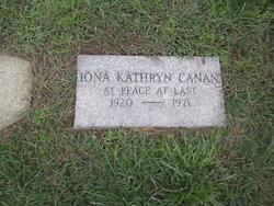 Iona Kathryn <I>Trucks</I> Canan