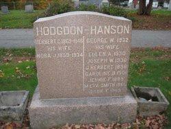 George W Hanson